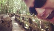 Selfie eekhoorn