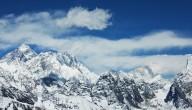 Himalaya sneeuwstorm