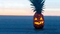 Halloween-ananas