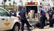 Jongen in ambulance