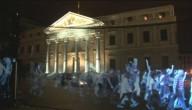 Hologram protest