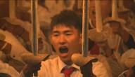 Lichtjesparade Noord Korea