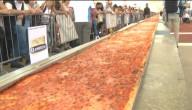 Langste pizza ter wereld