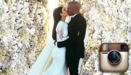 Kim en Kanye instagramrecord