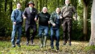 Boswachters met nieuw uniform