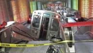 Metro op de roltrap