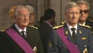 Koning Albert en prins Filip