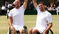 Joachim Gérard wint dubbelspel rolstoeltennis op Wimbledon