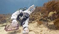 Paaseieren rapen onderwater