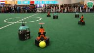 Nederland wint WK robotvoetbal