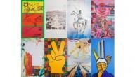 De acht schilderijen van politieke partijen