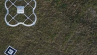 drone brengt pakje