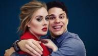 grappige foto met Adele