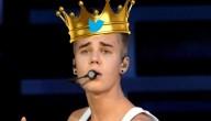 Bieber is Twitterkoning