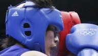 vrouwelijk boksen