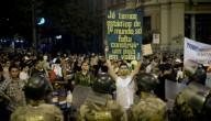 Protest in Brazilië