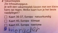Grappig antwoord