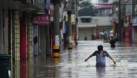 Overstromingen in China