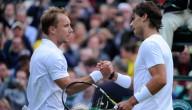 Steve Darcis wint van Rafael Nadal
