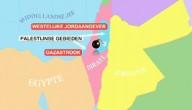 Kaart Israel