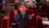 4-jarige Bruno Mars