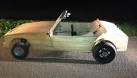 Houten cabrio
