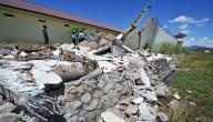 Aardbeving in Indonesië
