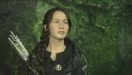 Wassenbeeld van Katniss uit de Hunger Games