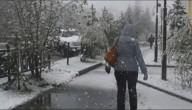 Sneeuw in Siberië