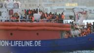 Migranten aangekomen in Malta