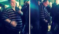 dansende man