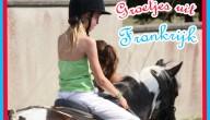 marte ging paardrijden