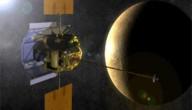 Satelliet bij Mercurius