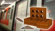 muurtje in de metro