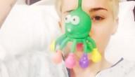 Miley Cyrus in het ziekenhuis