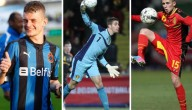 Drie nieuwe Rode Duivels