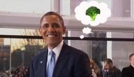 Obama eet graag broccoli