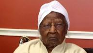 De oudste mens ter wereld was 116 jaar.