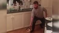 gooien met pannenkoeken