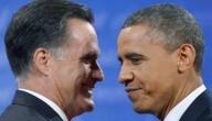 Romney en Obama