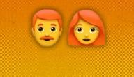 emoji's met rood haar