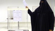 vrouw stemt