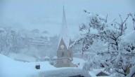 Het sneeuwt al massaal veel in de Alpen
