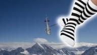 Sokken op Mont Blanc