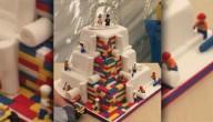 taart van LEGO