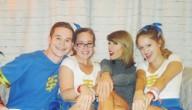 Taylor met haar fans