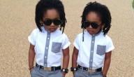 schattige tweeling
