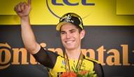 Wout van Aert wint 10de rit in de Ronde van Frankrijk