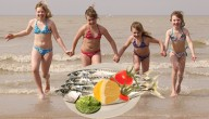 voedsel tegen zonnebrand