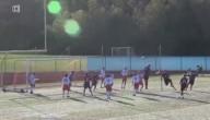 voetballer met 1 been
